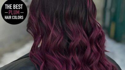 The best plum hair color ideas
