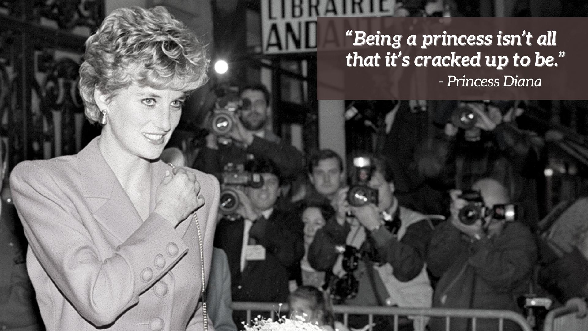 Citation de la princesse Diana
