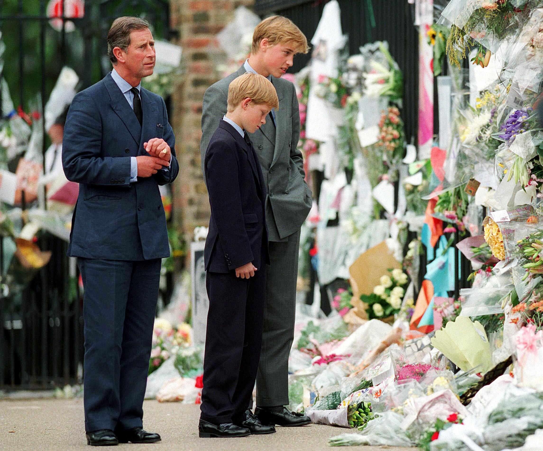 Prince Charles Princesse Diana funérailles