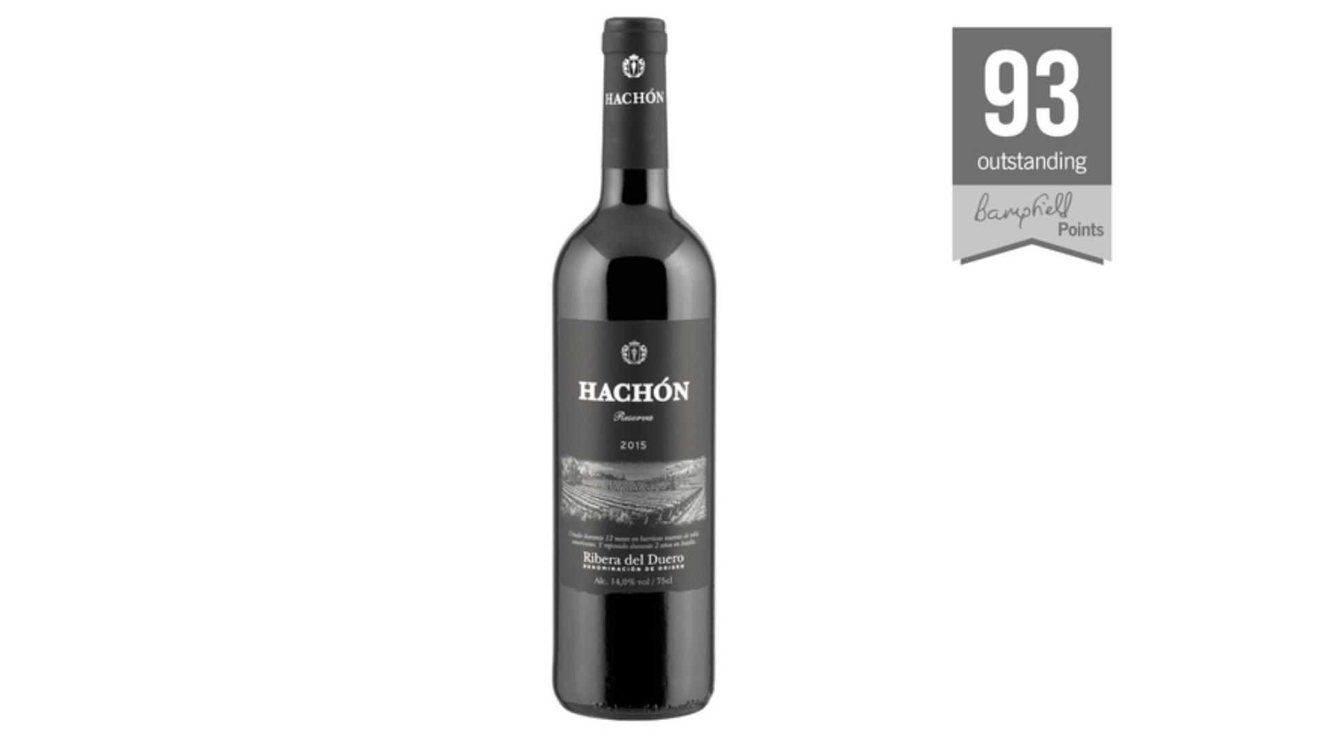 une bouteille de Hachón Ribera del Duero