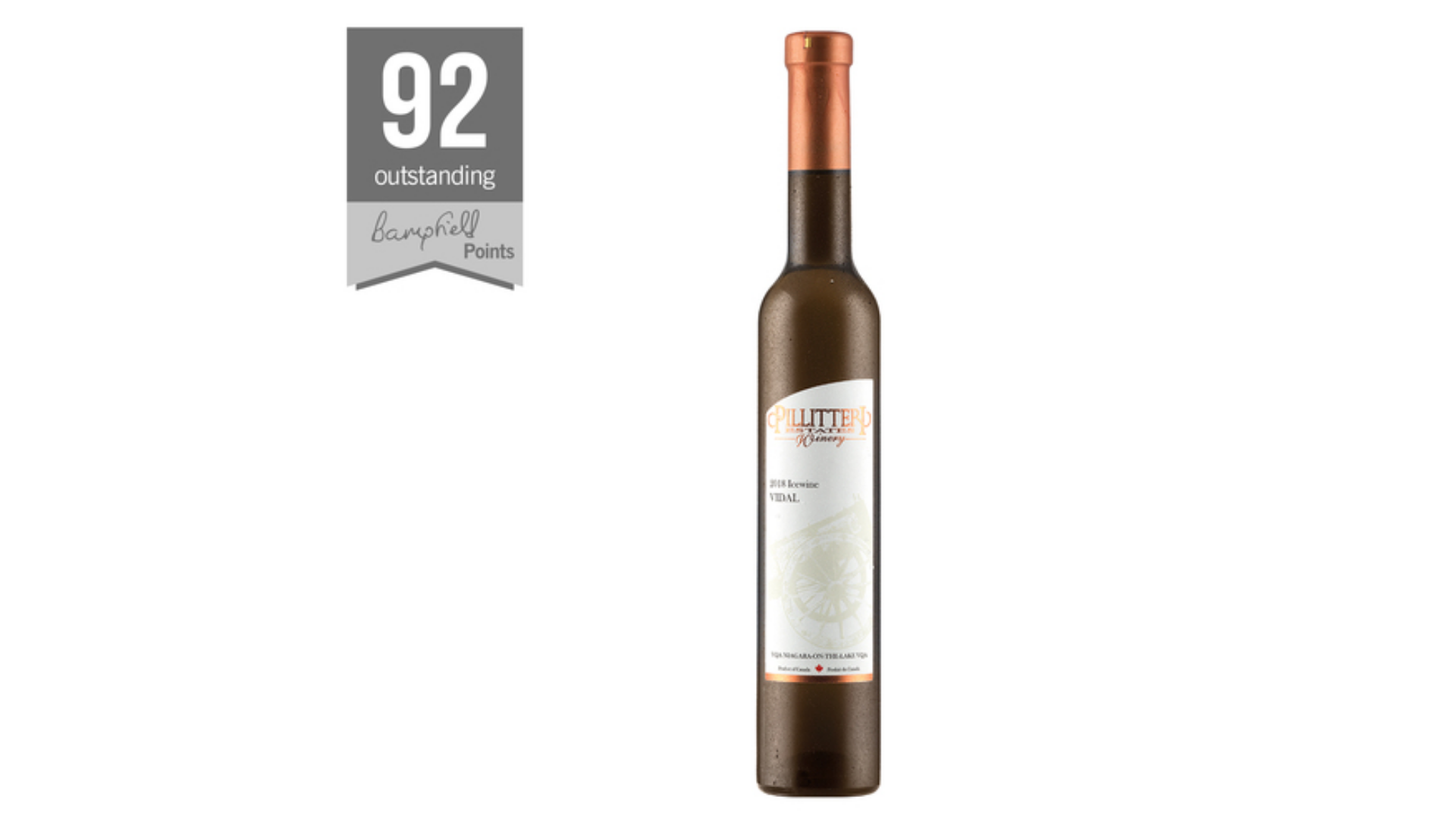 Le vin de glace Pillitteri Vidal - un des vins de dessert de Lidl.