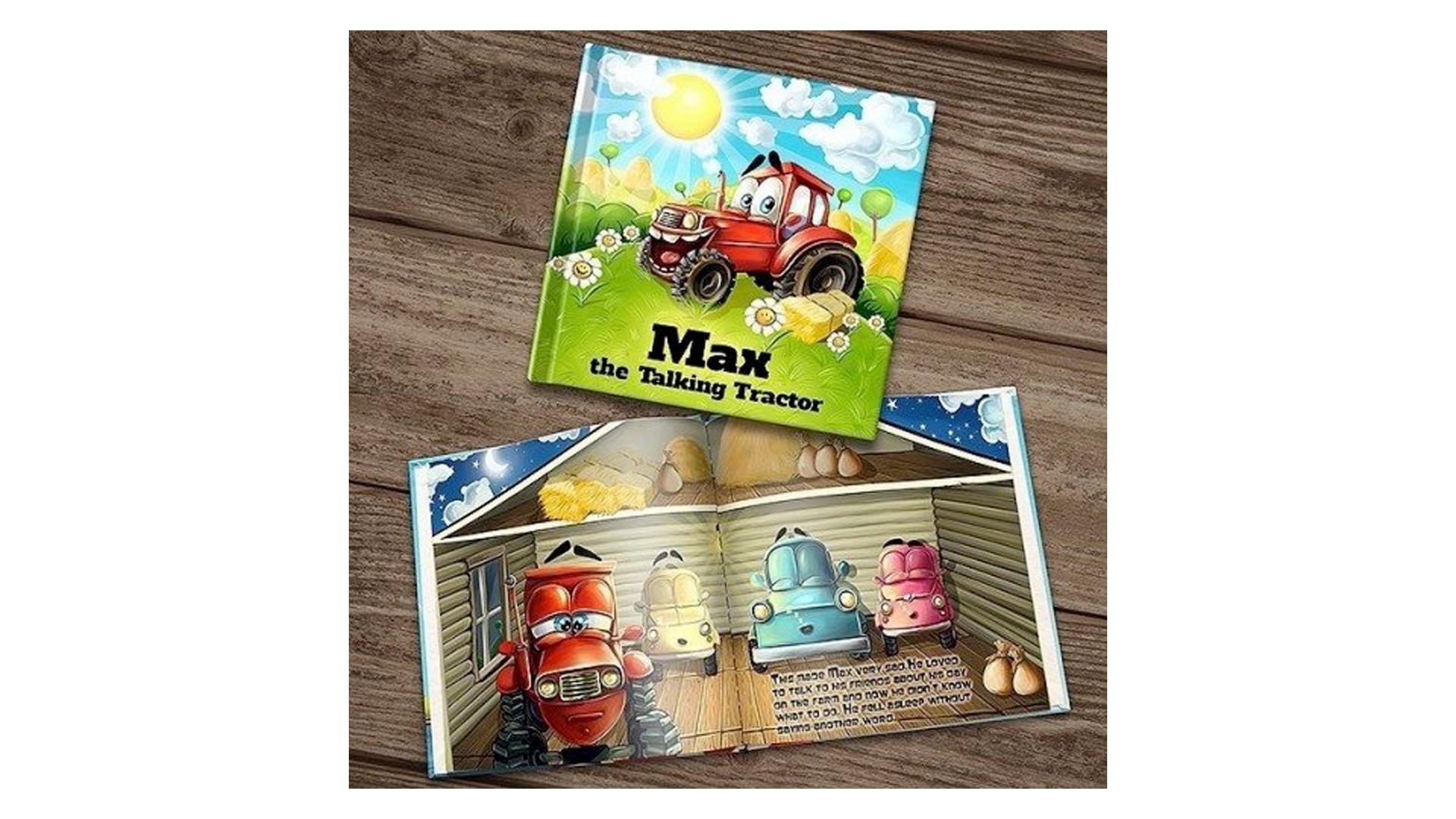 livre d'histoires sur mesure pour les petits creuseurs