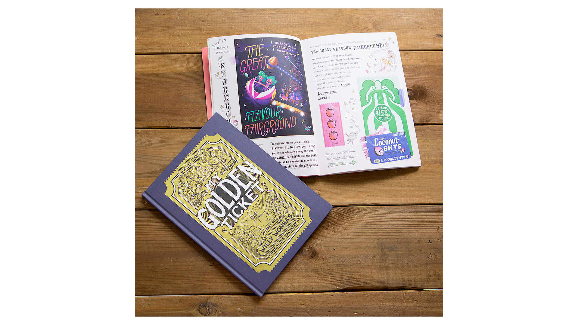 Livre d'histoires de Willy Wonka