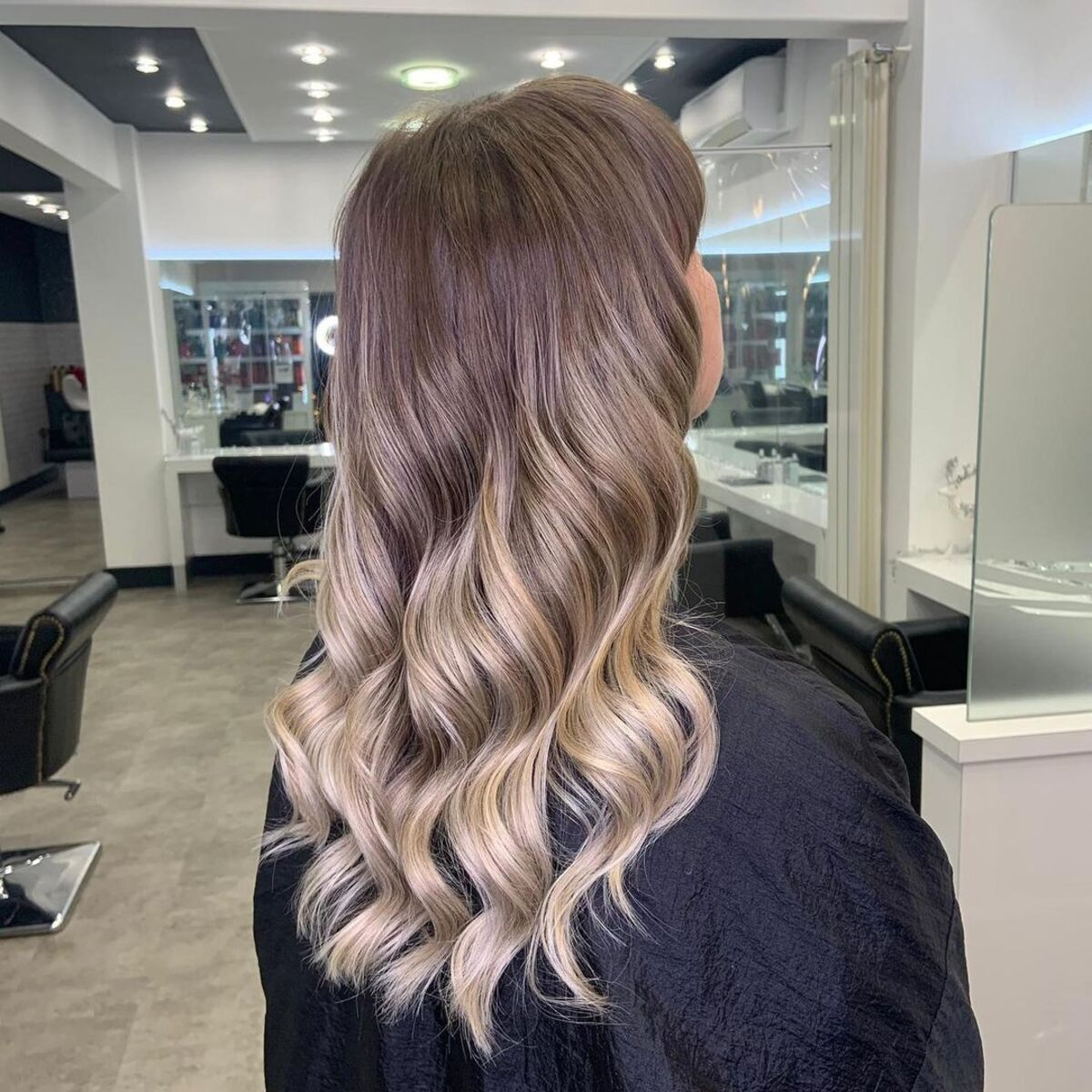 Champagne Blonde Ombre