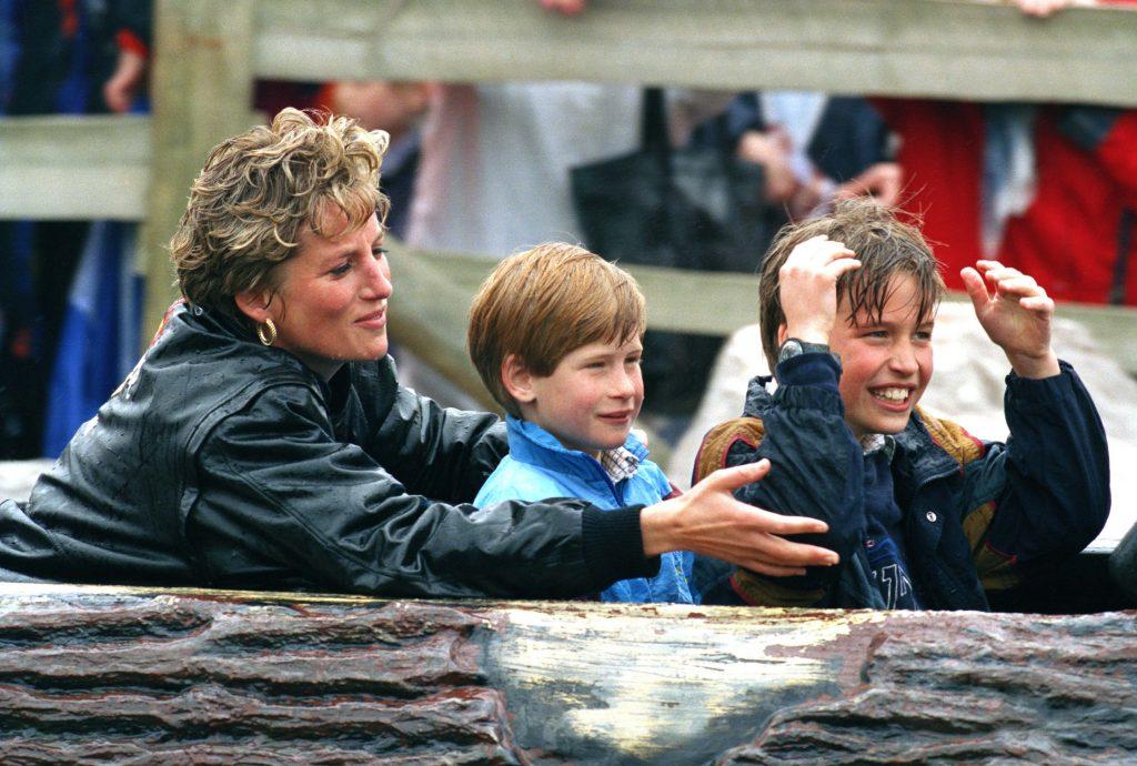 Princesse Diana, Prince William, Prince Harry, embarrassés Thorpe Park