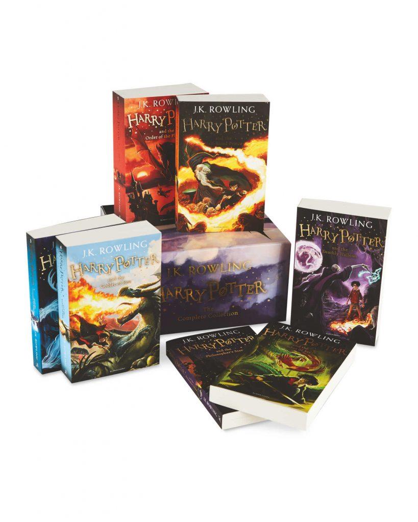 Collection complète de livres Harry Potter