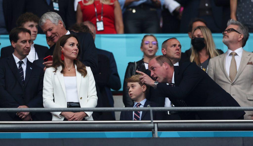 Prince William, Kate Middleton et Prince George