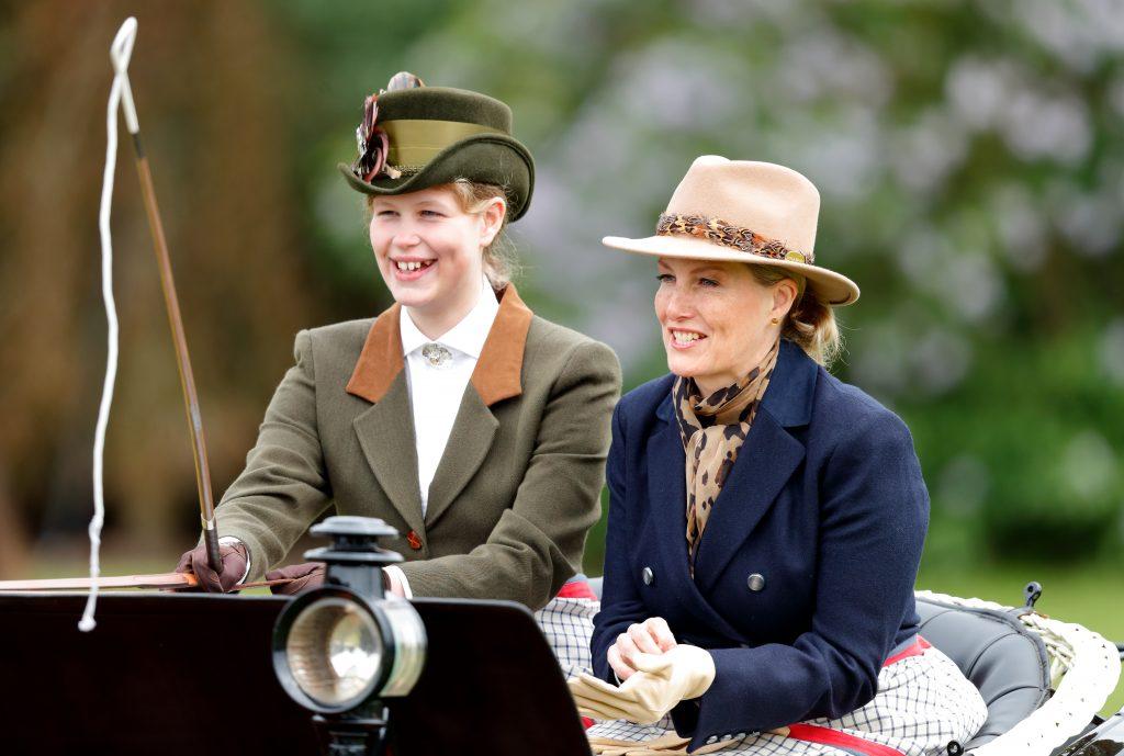 Lady Louise Windsor et Sophie Wessex