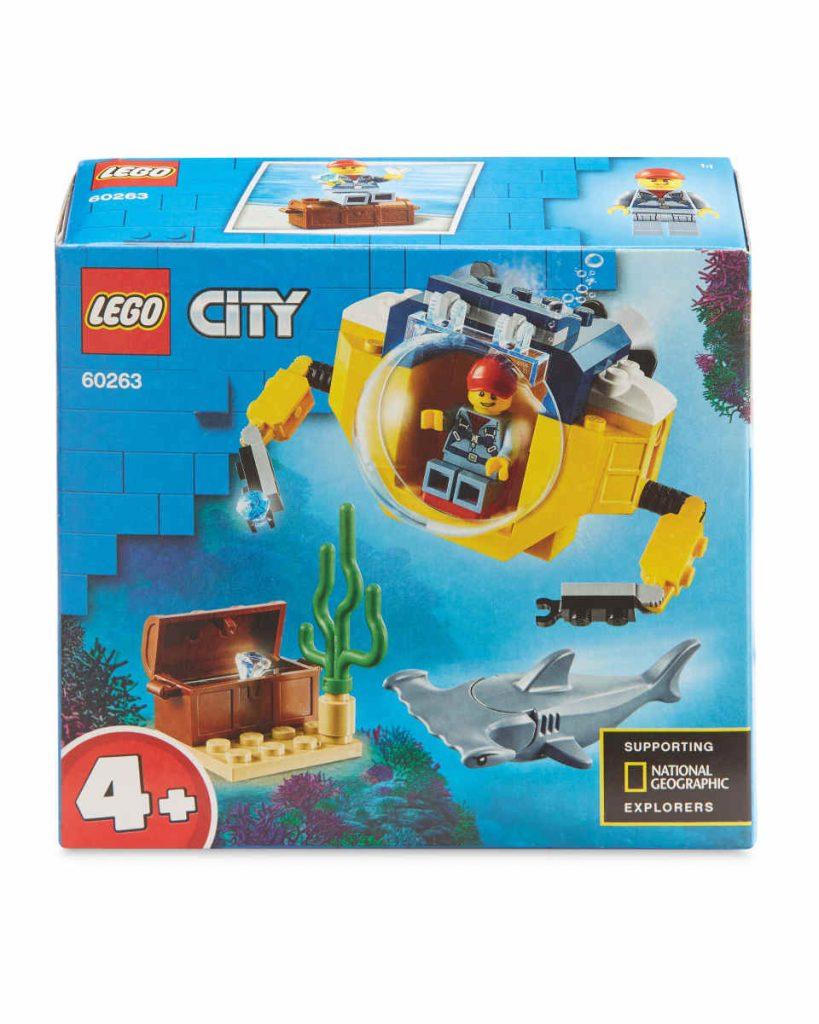 Lego City Mini-Submarine 60263