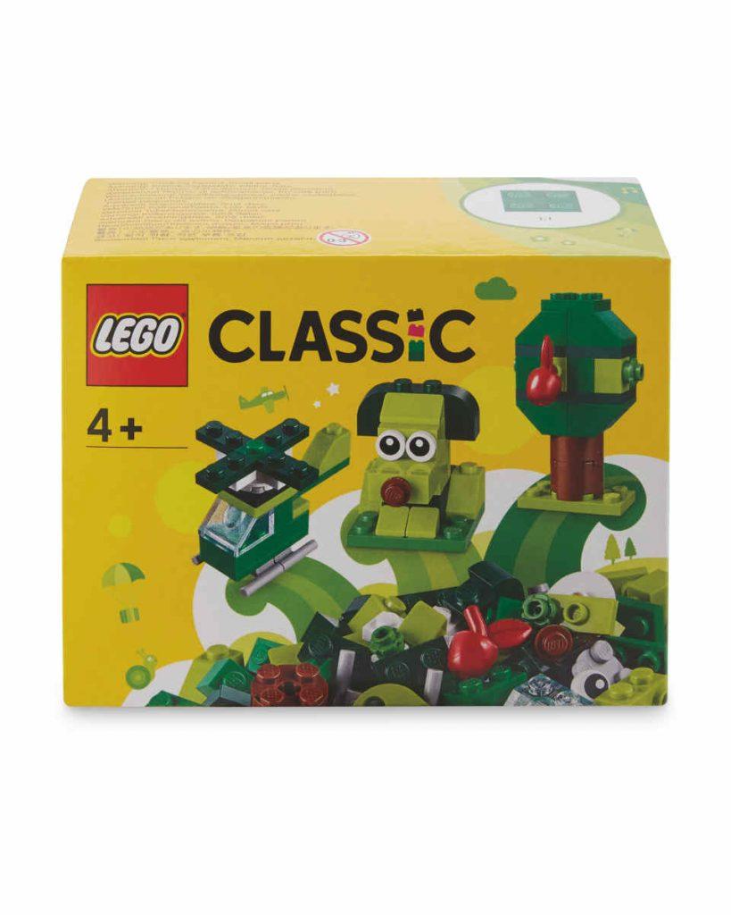 LEGO Classic Green Bricks set