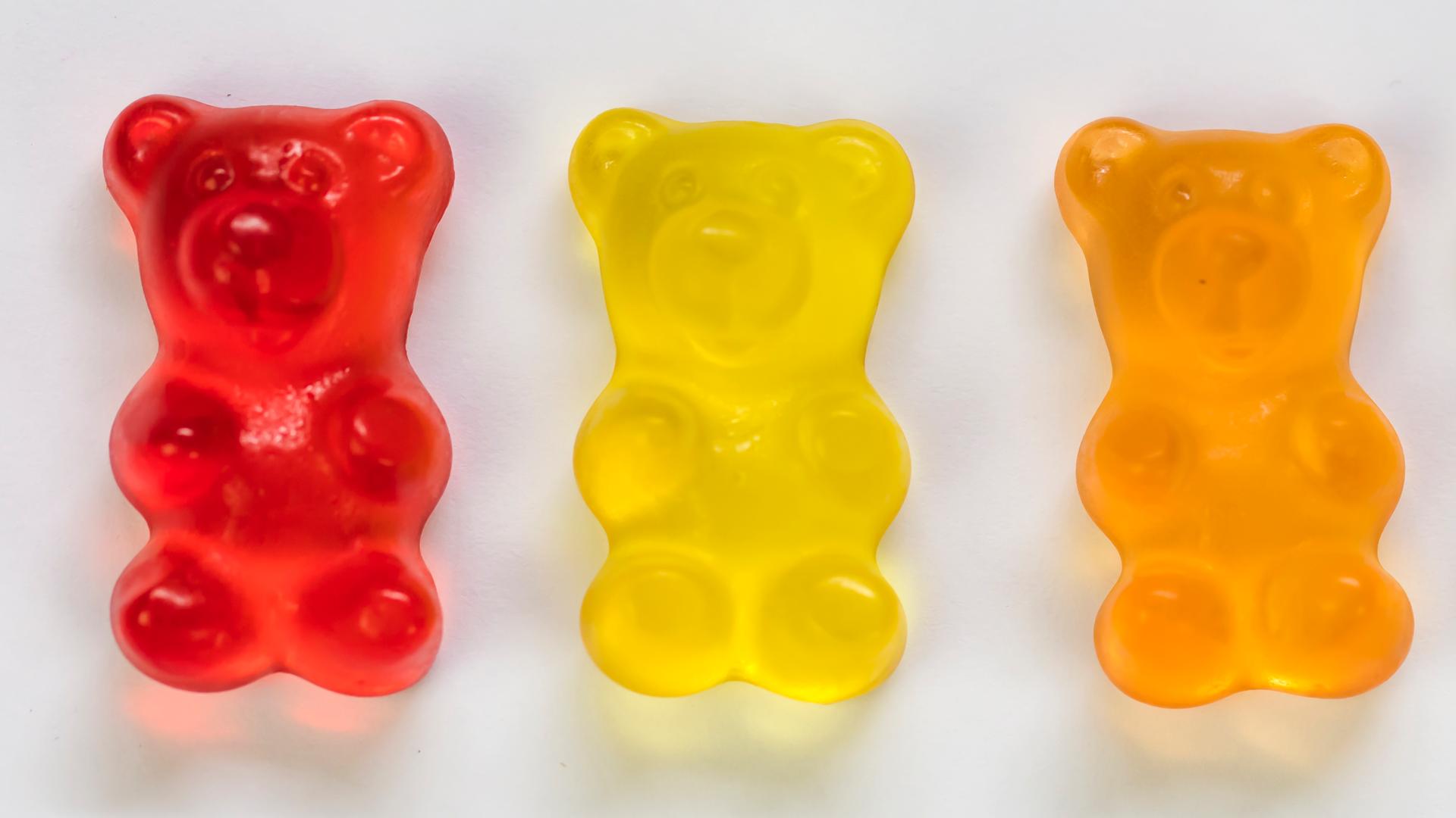 Des oursons en gélatine trouvés dans le Haribo Starmix.