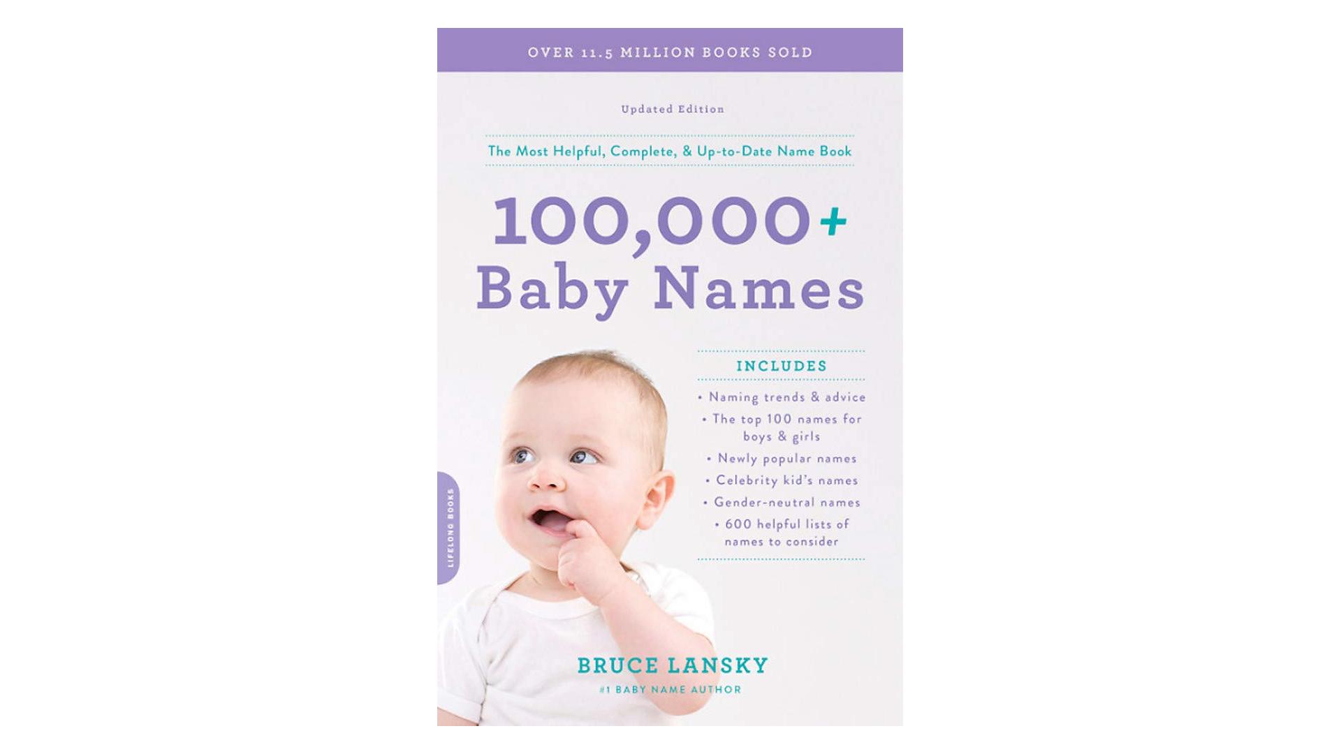 Livre de plus de 100 000 noms de bébés