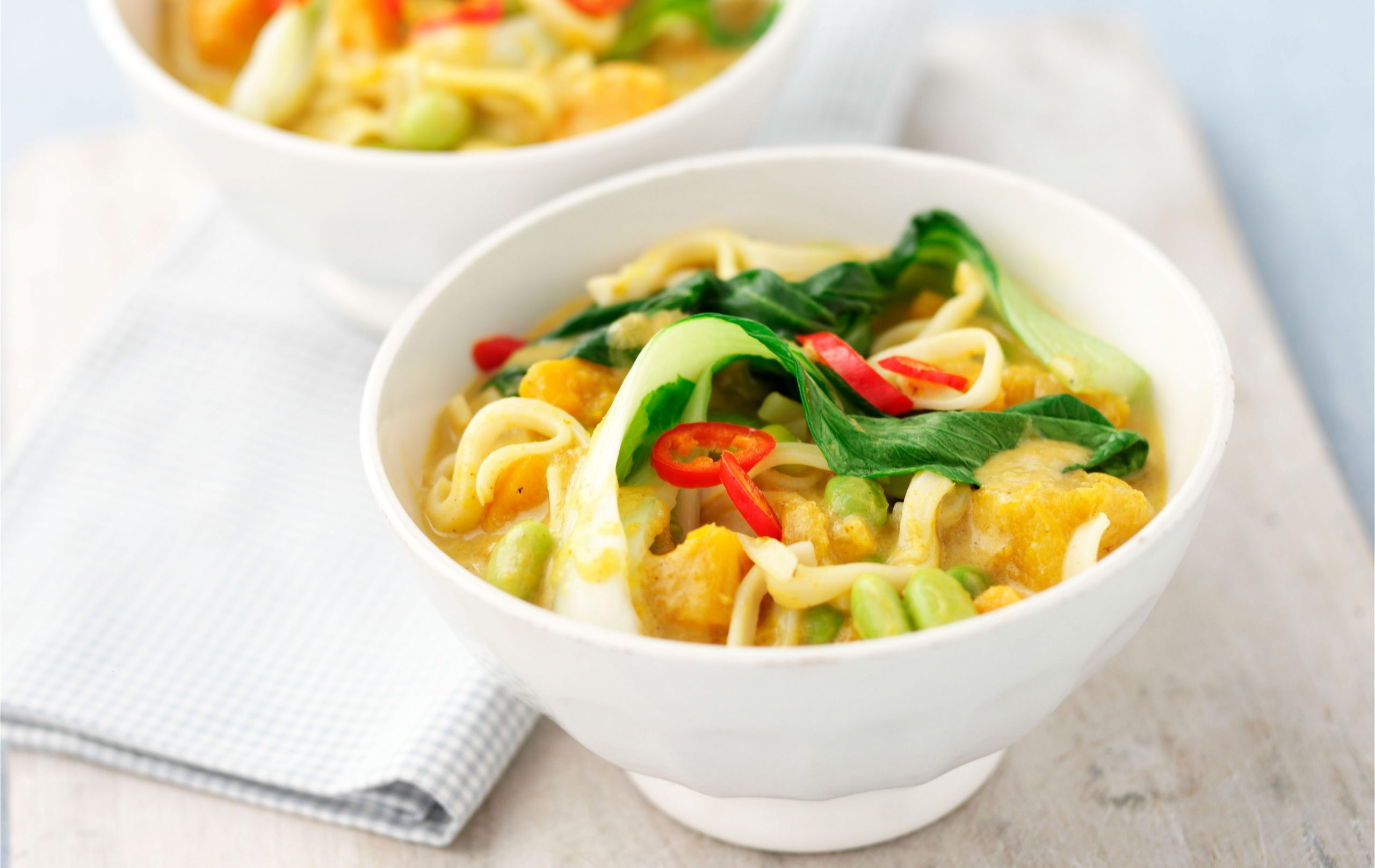 Nouilles thaïes au curry
