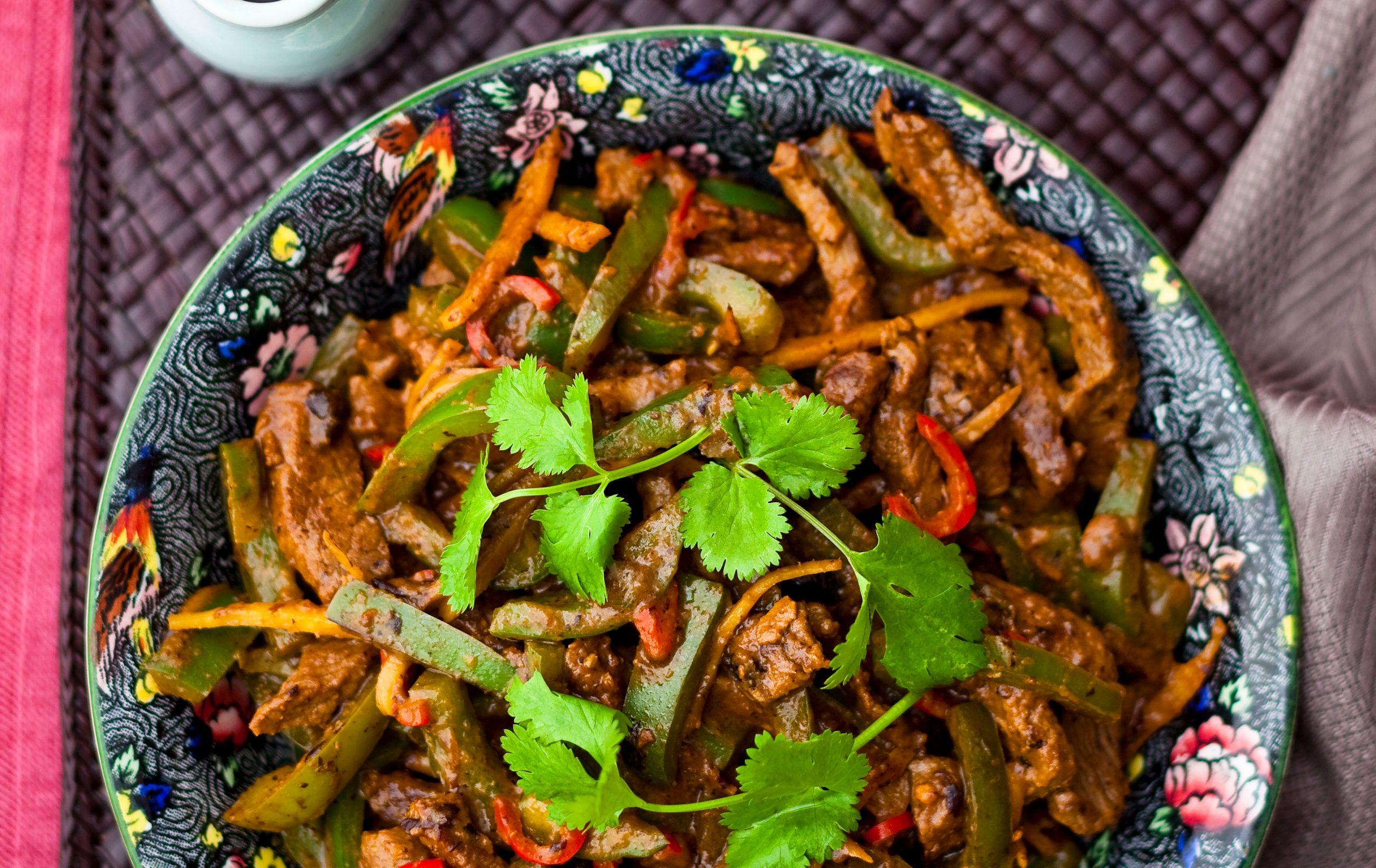 Bœuf à la sauce aux haricots noirs, Repas hypocaloriques