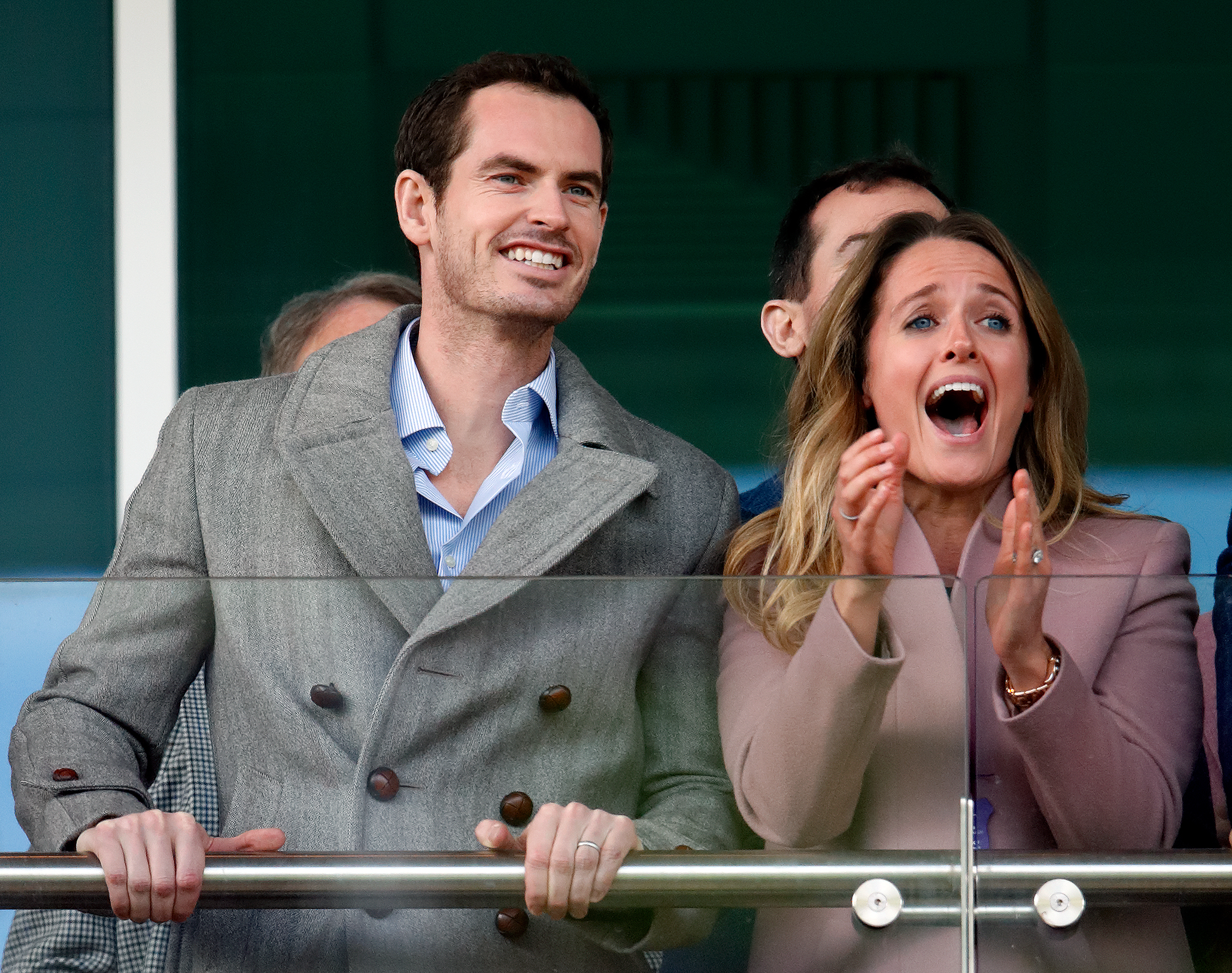 Andy Murray et sa femme Kim Sears