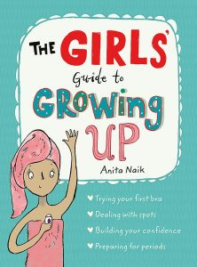 Le livre The Girls' Guide to Growing Up, l'un des moyens de parler des règles aux enfants.