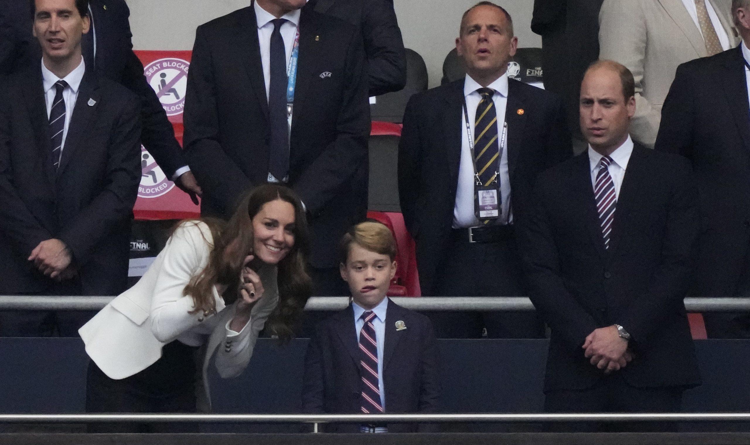 Prince George, Kate Middleton et Prince William