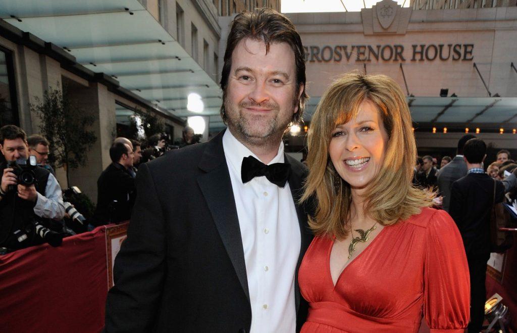 La présentatrice Kate Garraway et son mari Derek Draper arrivent à la cérémonie des Galaxy British Book Awards à Grosvenor House le 3 avril 2009.