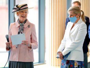Sophie Wessex et la cousine de la Reine