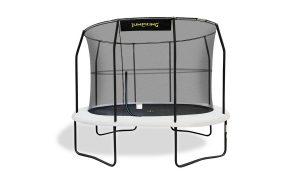 Jumpking Trampoline ovale pour enfants de 7ft x 10ft avec clôture