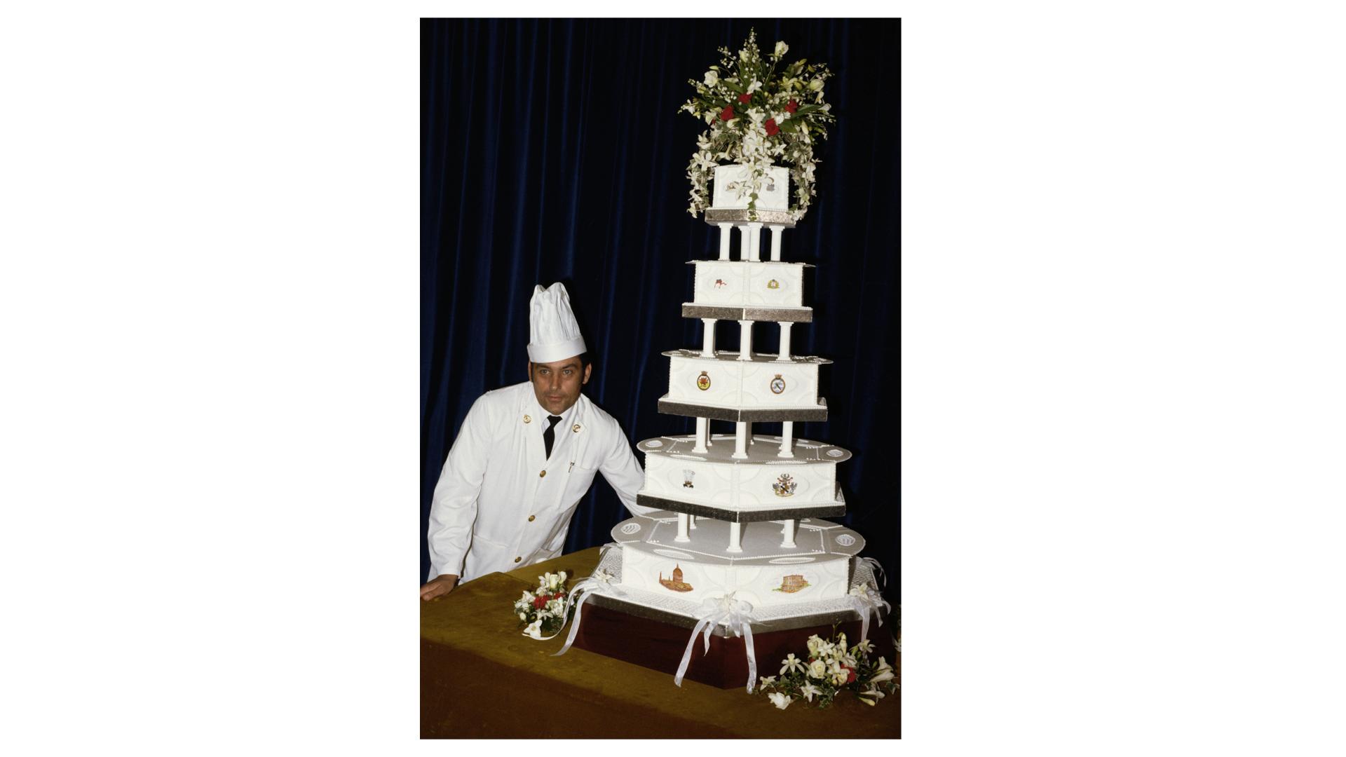 Le gâteau de mariage de la princesse Diana