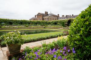 Le nouveau jardin en contrebas du palais de Kensington.