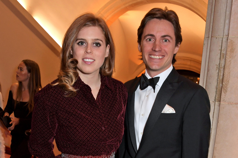 la princesse beatrice avec son mari edoardo mapelli mozzi