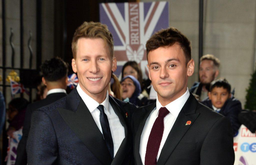 Dustin Lance Black et Tom Daley assistent aux Pride Of Britain Awards 2019