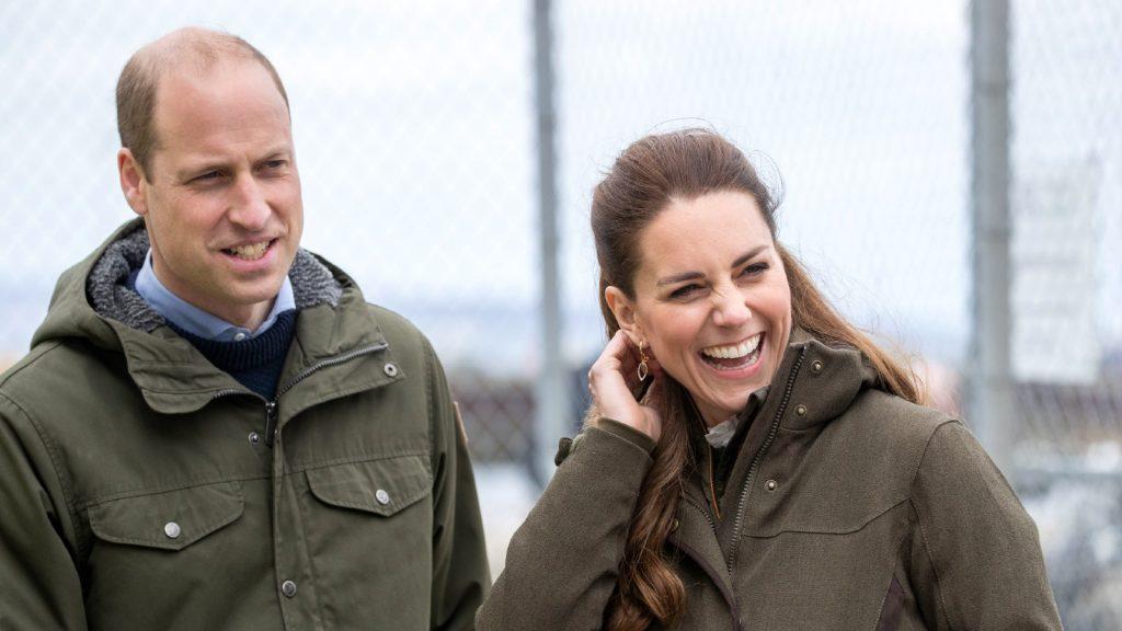 Le Prince William, Duc de Cambridge et Catherine, Duchesse de Cambridge lors d'une visite au Centre européen des énergies marines le 25 mai 2021 à Kirkwall, Orkney, Ecosse.