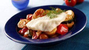 morue des aliments de remplissage à faible teneur en calories