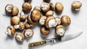 aliments de remplissage à faible teneur en calories champignons