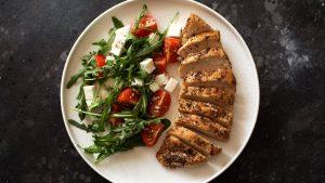 aliments de remplissage à faible teneur en calories poulet
