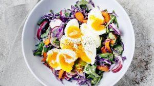 Aliments de remplissage à faible teneur en calories Œuf