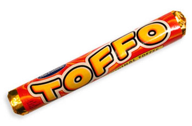 barre de chocolat toffo retro