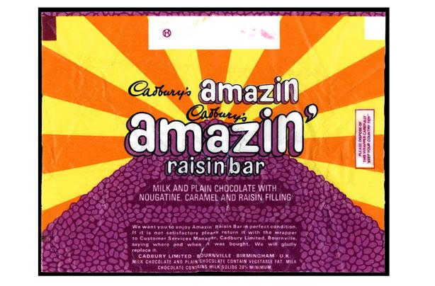 barre de chocolat amazin raisin