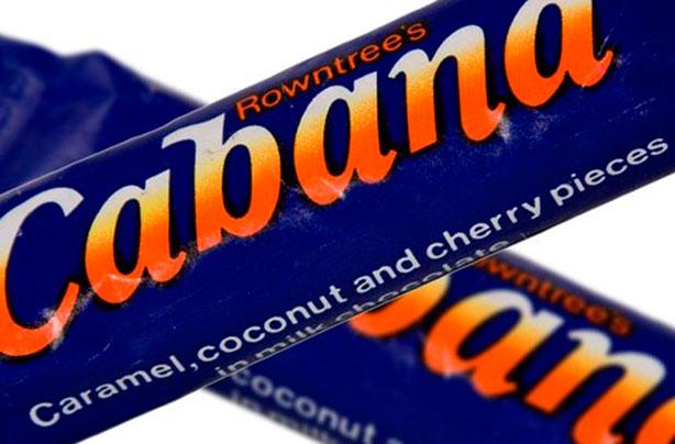 cabana retro chocolate bar