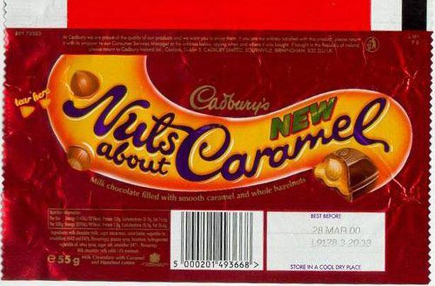 barre de caramel