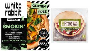 Aliments pour végétaliens pizza