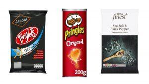 Aliments pour végétaliens chips