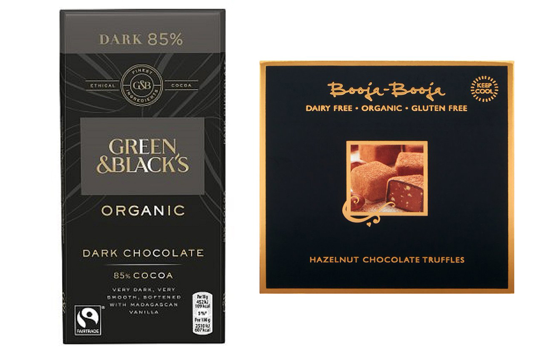 Chocolat végétalien