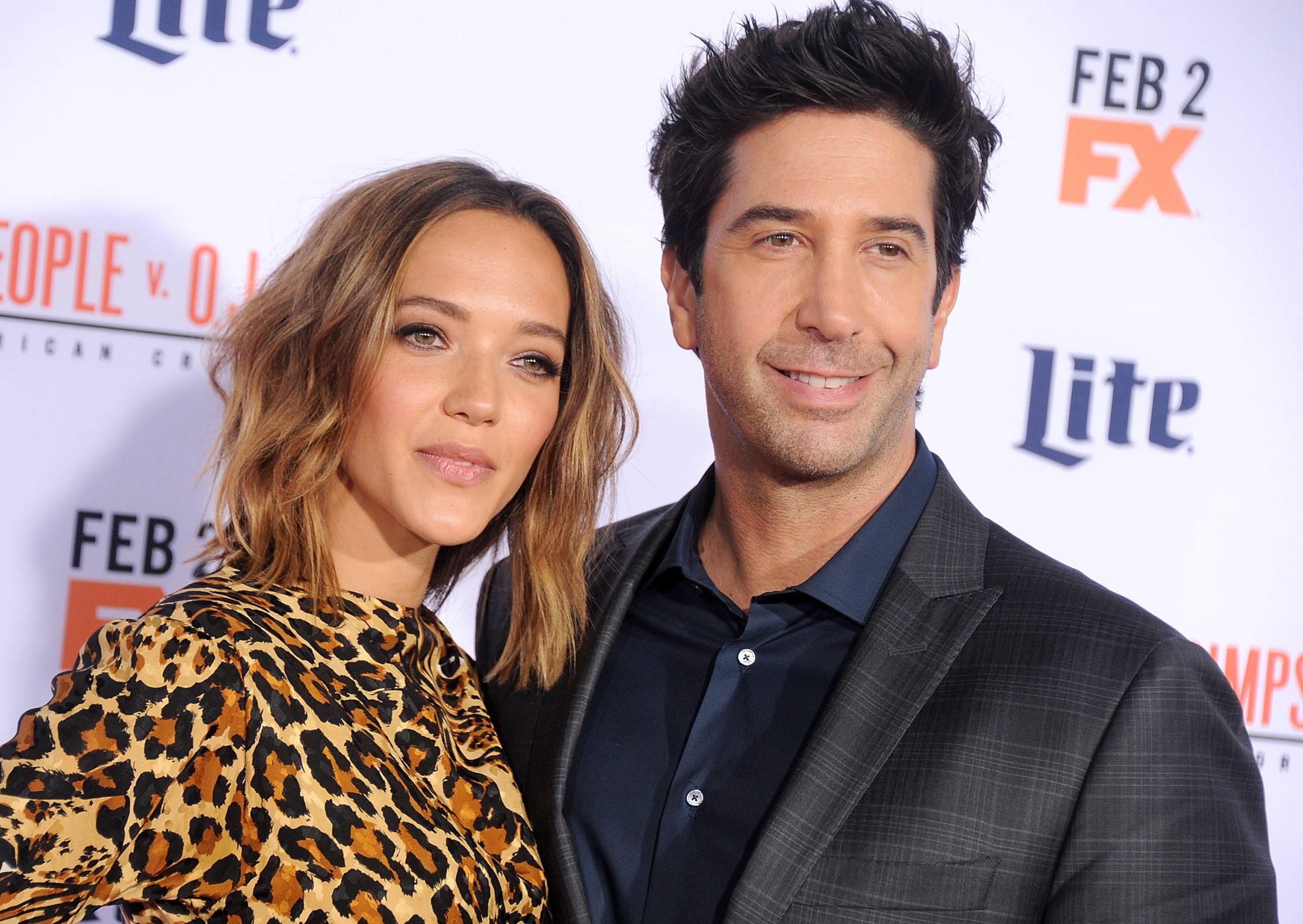 David Schwimmer et son ex-femme Zoe Buckman