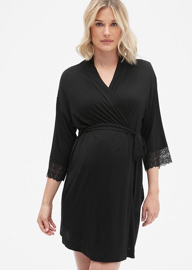 Robe de maternité Gap avec bordures en dentelle