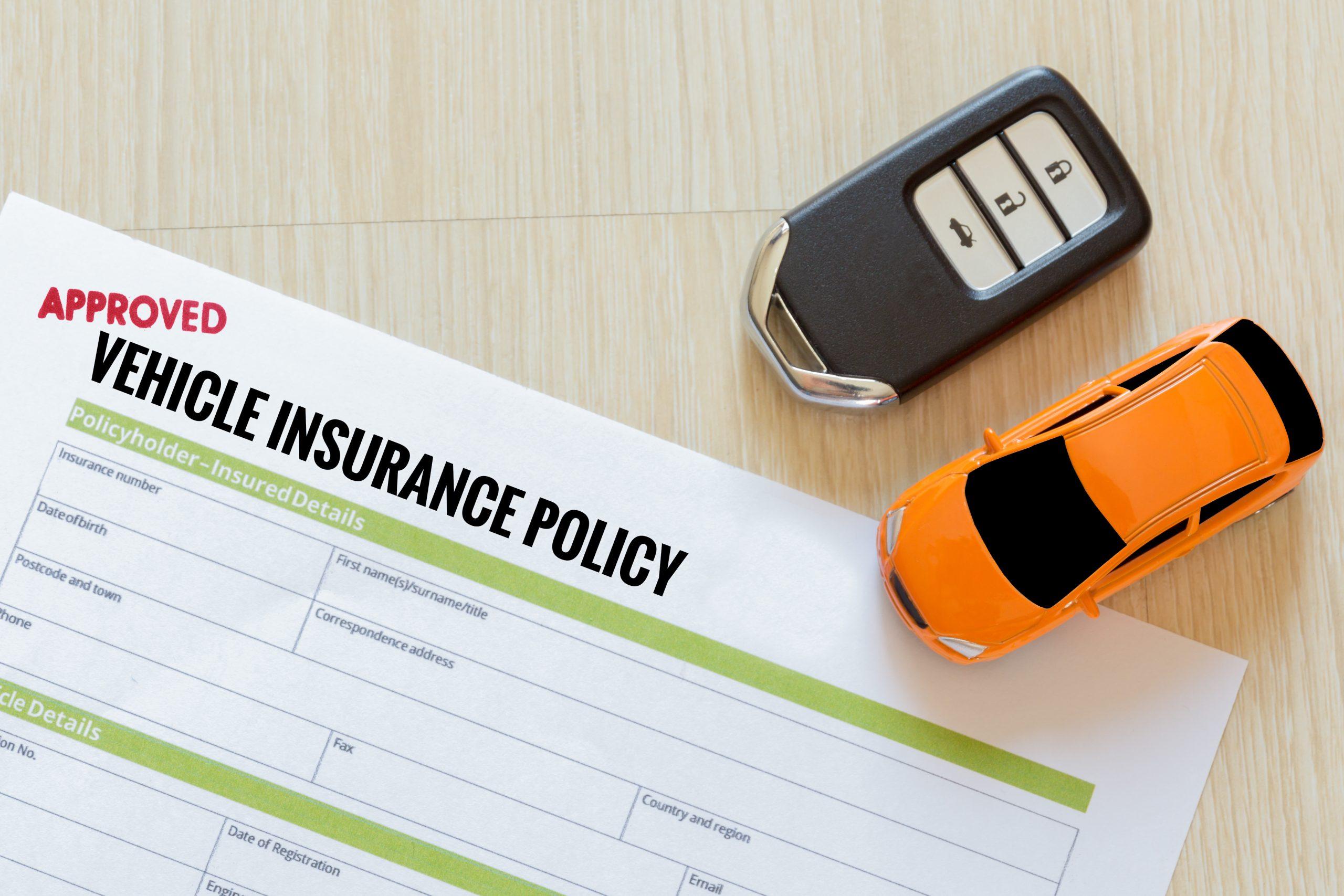 Escroquerie au volant, police d'assurance automobile
