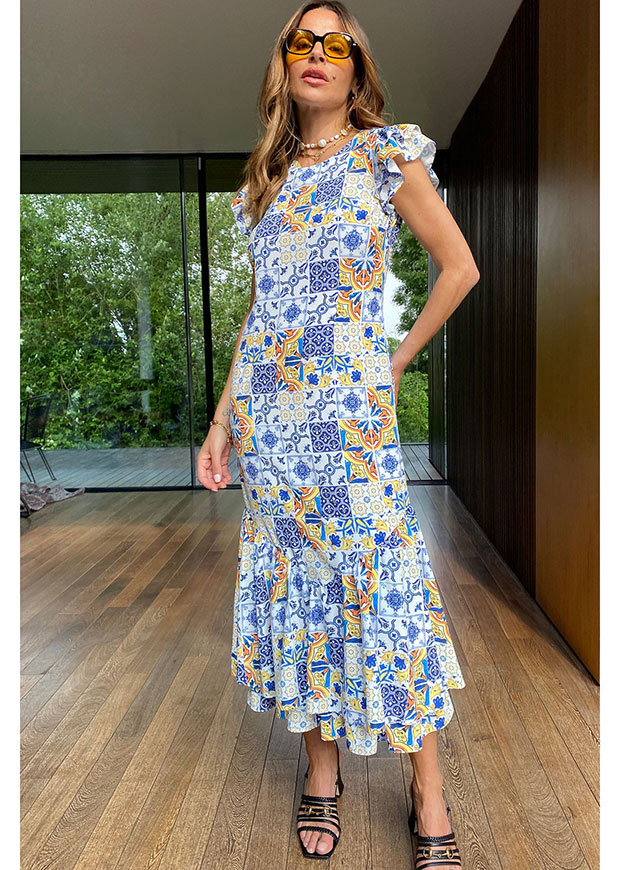 Never Fully Dressed Amalfi Frida Dress