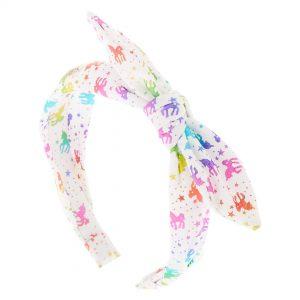 Le serre-tête à nœud licorne de Claire's est l'un des meilleurs accessoires pour cheveux pour les filles.