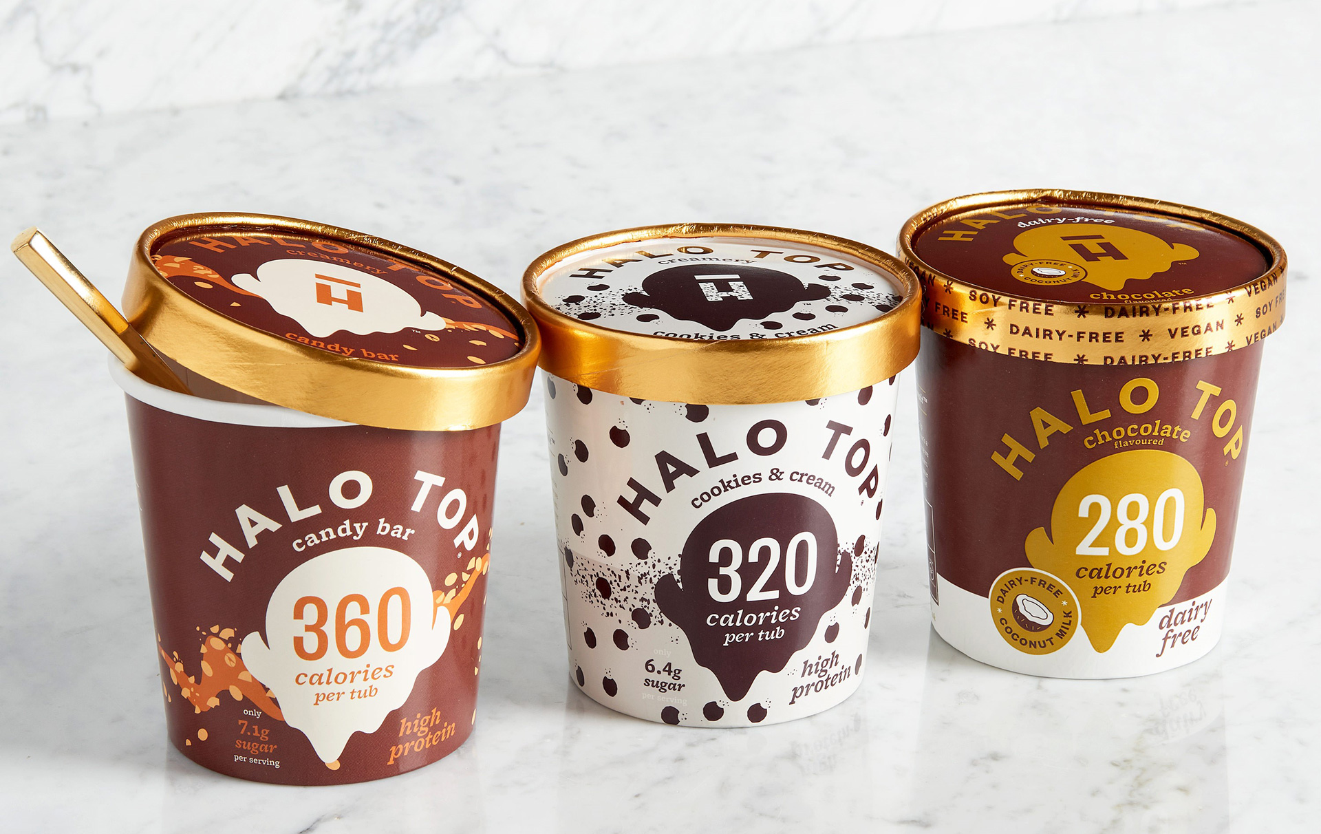 Glaces Halo Top