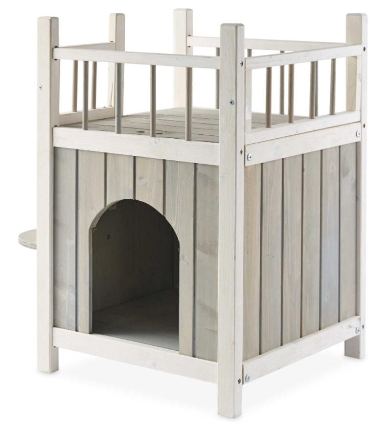 Aldi pet house with balcony