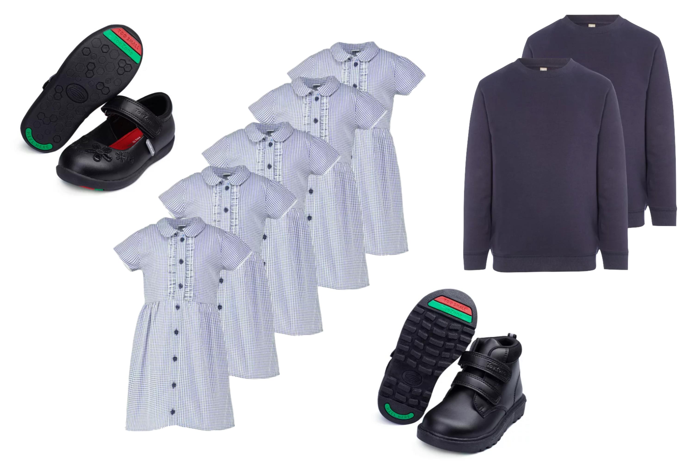 Les uniformes scolaires de Sainsbury's