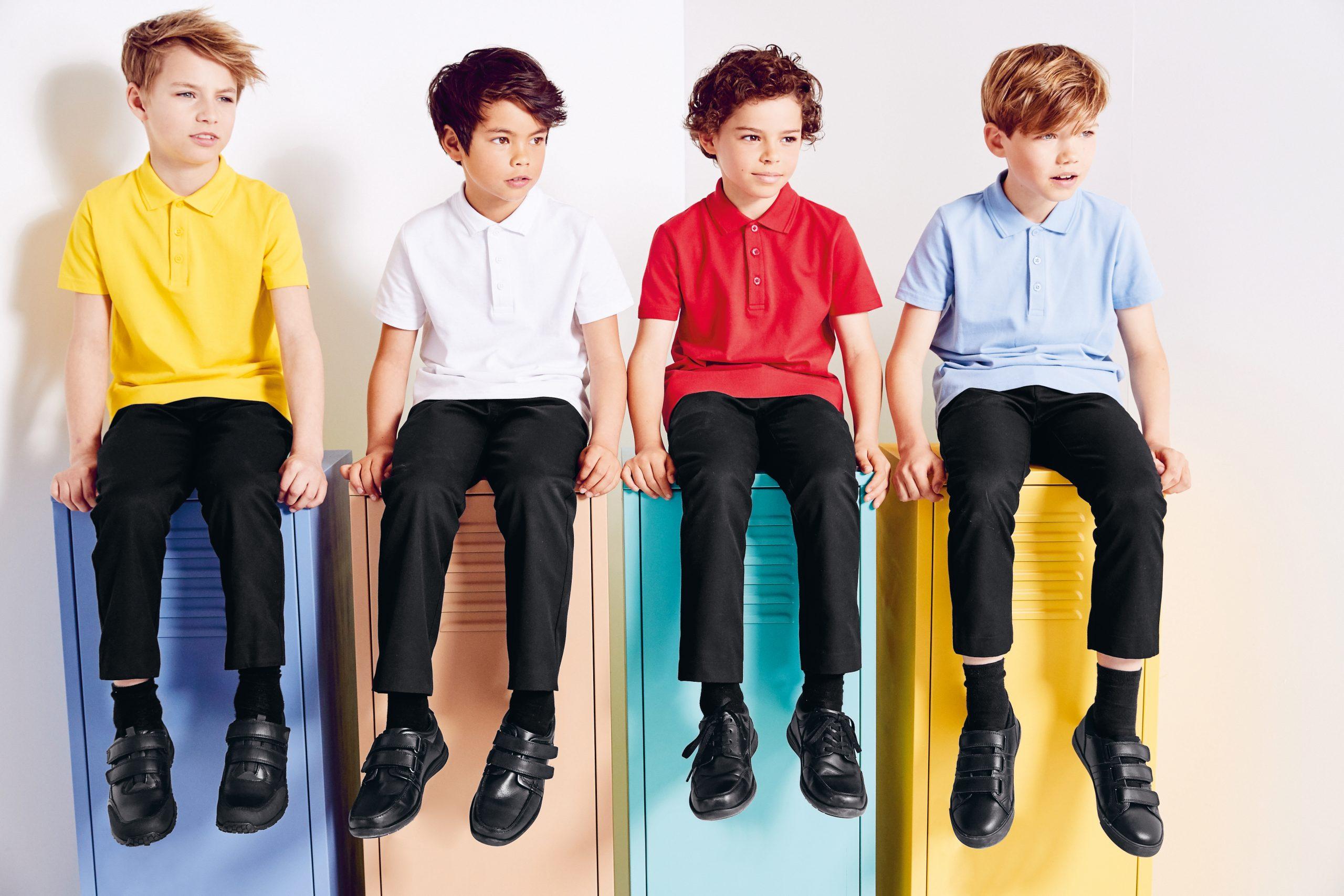 Les uniformes scolaires des enfants Next