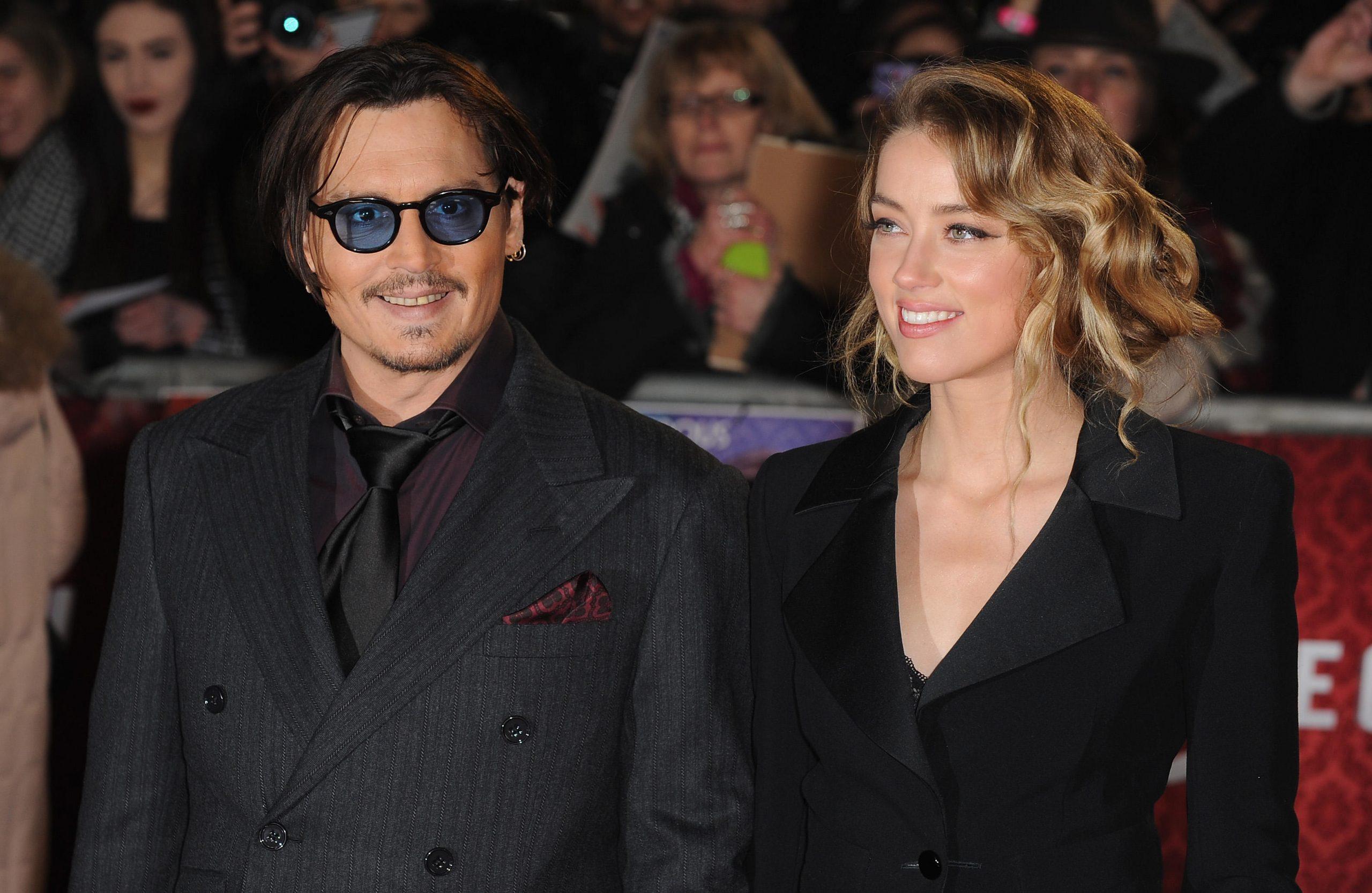 Johnny Deep et Amber Heard